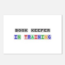Book Keeper In Training Postcards (Package of 8)