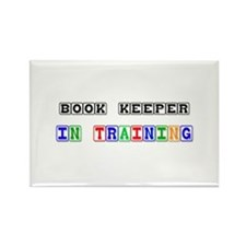 Book Keeper In Training Rectangle Magnet