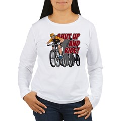 Shut Up and Ride Bike T-Shirt