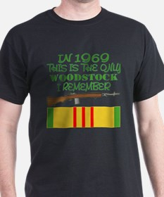 1969 The Only Woodstock T-Shirt