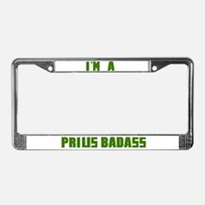 Badass Prius License Plate License Plate Frame