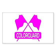 COLORGUARD Rectangle Decal