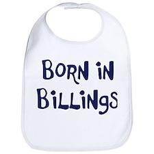 Born in Billings Bib