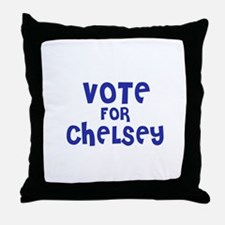 Vote for Chelsey Throw Pillow