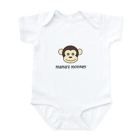 Mama's Monkey cute onesie