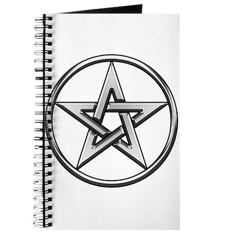 Silver Circle Pentagram Journal
