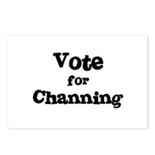 Vote for Channing Postcards (Package of 8)