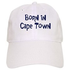 Born in Baseball Cape Town Baseball Cap