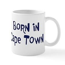 Born in Cape Town Mug