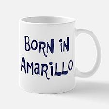 Born in Amarillo Mug