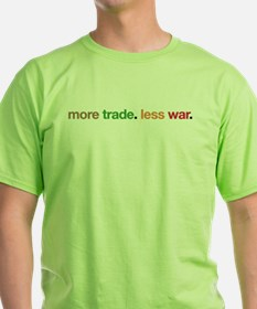More Trade, Less War T-Shirt