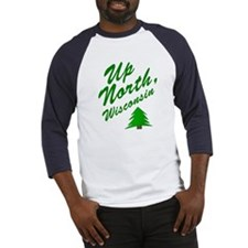 Up North Wisconsin Baseball Jersey