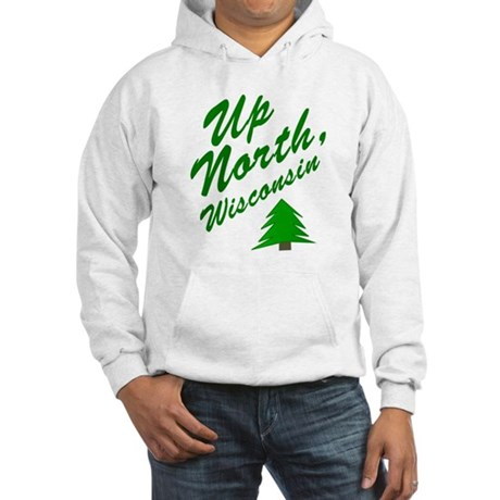 Up North Wisconsin Hooded Sweatshirt