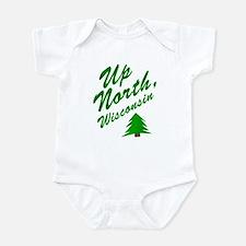 Up North Wisconsin Infant Bodysuit