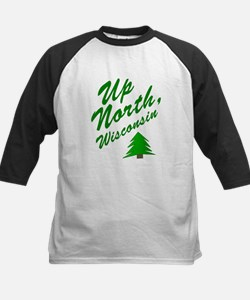 Up North Wisconsin Kids Baseball Jersey
