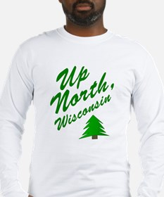 Up North Wisconsin Long Sleeve T-Shirt