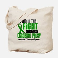 In The Fight Against CP 1 (Nephew) Tote Bag