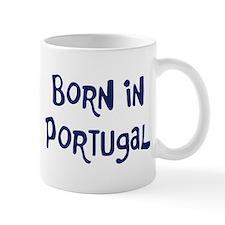 Born in Portugal Mug