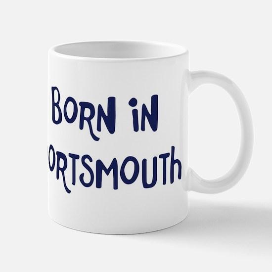 Born in Portsmouth Mug