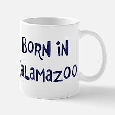 Born in Kalamazoo Mug