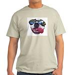 BOSTON TERRIER YO DAWG SUNGLASSES Ash Grey T-Shirt