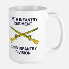 128th Infantry <BR>WWII Veteran Mug