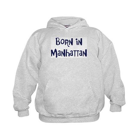 Born in Manhattan Kids Hoodie