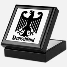 Deutschland - Germany National Symbol Keepsake Box
