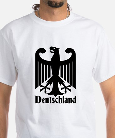 Deutschland - Germany National Symbol White T-Shir