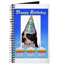 HAPPY BIRTHDAY DOG Journal