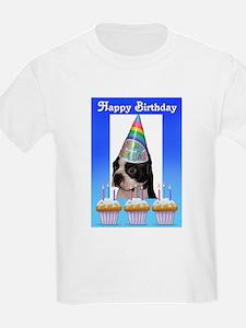 HAPPY BIRTHDAY DOG Kids T-Shirt