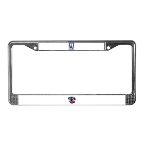 HAPPY BIRTHDAY DOG License Plate Frame