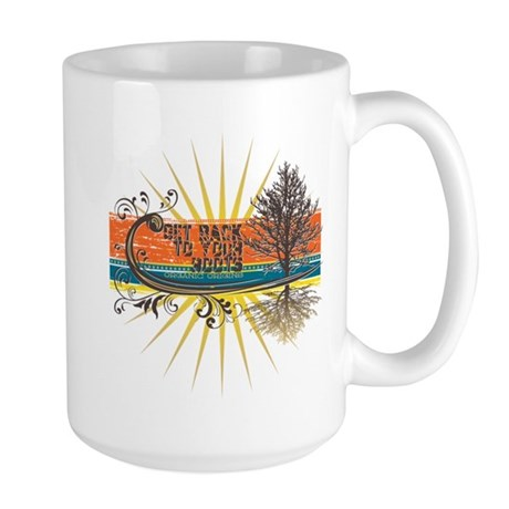 Back To Your Roots Nature Large Mug