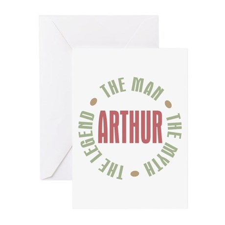 Arthur Man Myth Legend Greeting Cards (Pk of 10)