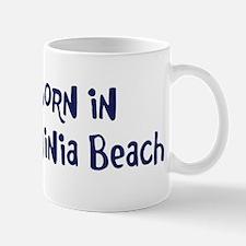 Born in Virginia Beach Mug