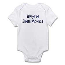 Born in Santa Monica Infant Bodysuit