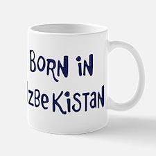 Born in Uzbekistan Mug