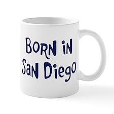 Born in San Diego Mug
