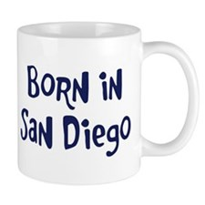 Born in San Diego Mug