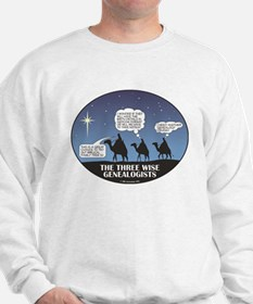 Three Wise Genealogists Sweatshirt