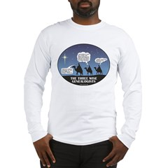 Three Wise Genealogists Long Sleeve T-Shirt