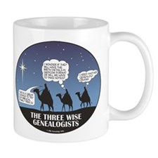 Three Wise Genealogists Mug