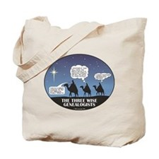 Three Wise Genealogists Tote Bag