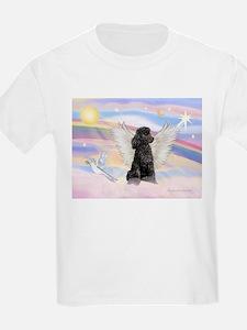 Angel/Poodle(blk Toy/Min) T-Shirt