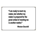 Churchill Maker Quote Banner