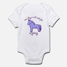 Pony - Infant Bodysuit