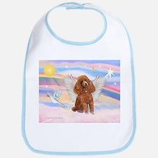 Angel/Poodle (apricot Toy/Min) Bib