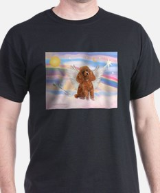 Angel/Poodle (apricot Toy/Min) T-Shirt