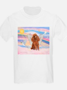 Angel/Poodle (apricot Toy/Min) T-Shirt