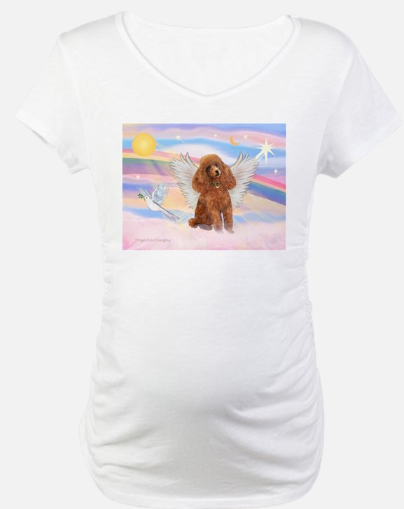 Angel/Poodle (apricot Toy/Min) Shirt